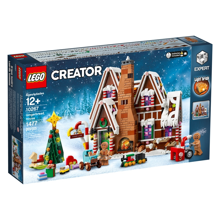 10267 box1 v39 728x409 - This tasty-looking LEGO Gingerbread House makes a perfect Christmas centerpiece