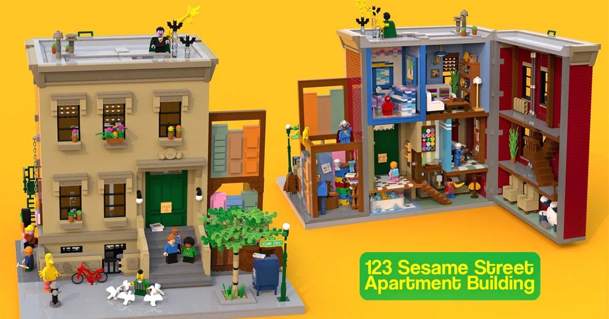 123 Sesame Street LEGO set 364x205 - LEGO is making its first-ever Sesame Street building set
