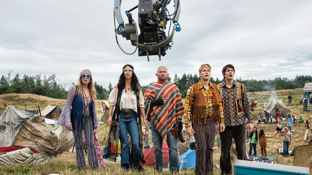 Legends of Tomorrow Season 4 behind the scenes