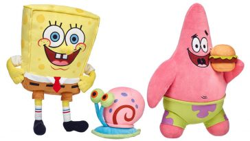 SpongeBob, Patrick, and Gary have arrived at Build-A-Bear Workshop 15