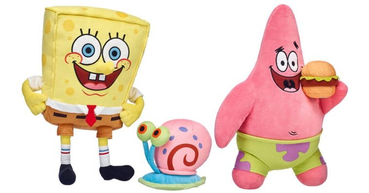 SpongeBob, Patrick, and Gary have arrived at Build-A-Bear Workshop 10
