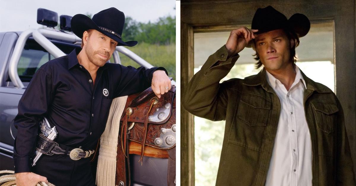 Jared Padalecki and Chuck Norris 364x205 - Supernatural's Jared Padalecki will star in a Walker, Texas Ranger reboot