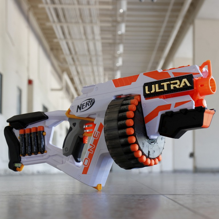 The Nerf Ultra One Blaster is loaded with the farthest flying Nerf darts ever 13