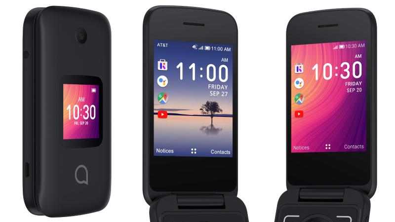 alcatel smartflip 364x205 - Alcatel announces two smart flip phones with Google Assistant