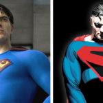Brandon Routh as Superman and Kingdom Come Superman