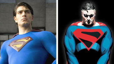 Brandon Routh as Superman and Kingdom Come Superman