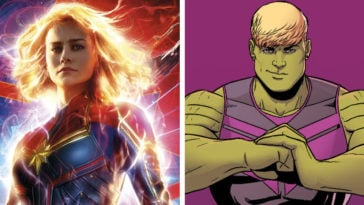Captain Marvel and Hulkling