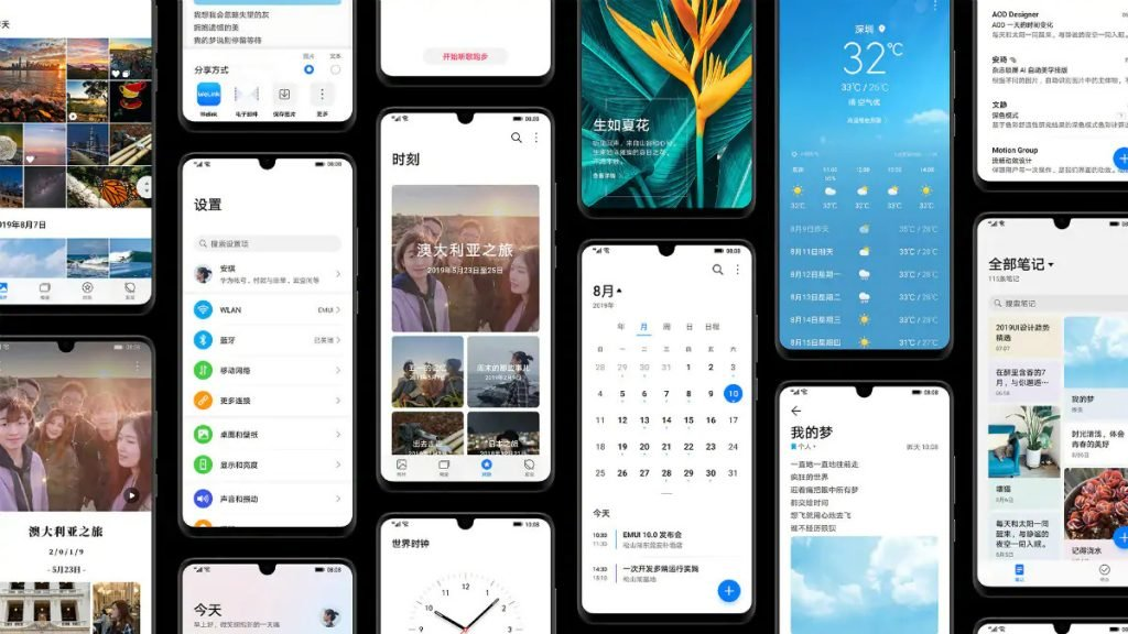 Here's the official list of Huawei phones getting the EMUI 10 update 17