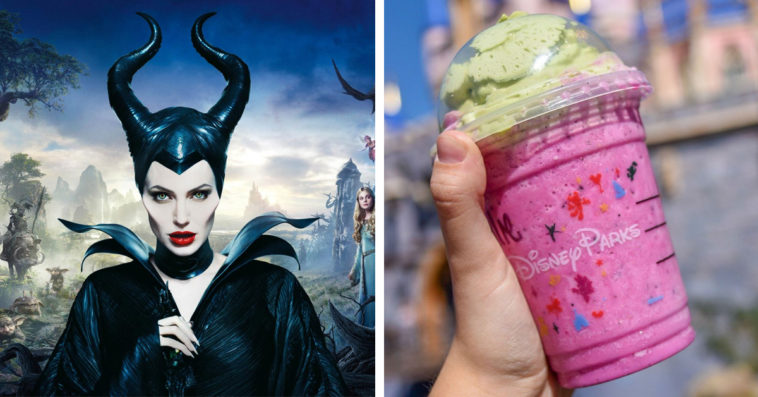 Maleficent and Maleficent Frappuccino