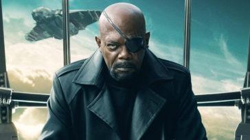 Samuel L Jackson as Nick Fury in MCU