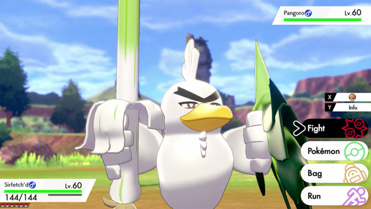 New Pokemon Sirfetch'd is a noble knight but also a wild bird 12