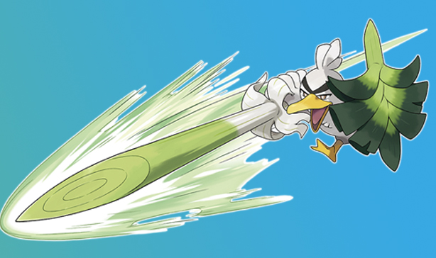 New Pokemon Sirfetch'd is a noble knight but also a wild bird 13