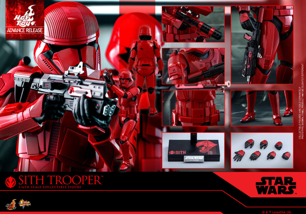 Sith Trooper Hot Toys