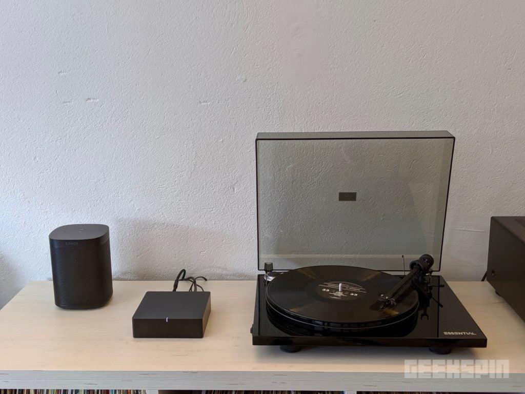 Sonos One SL (Left) and Sonos Port