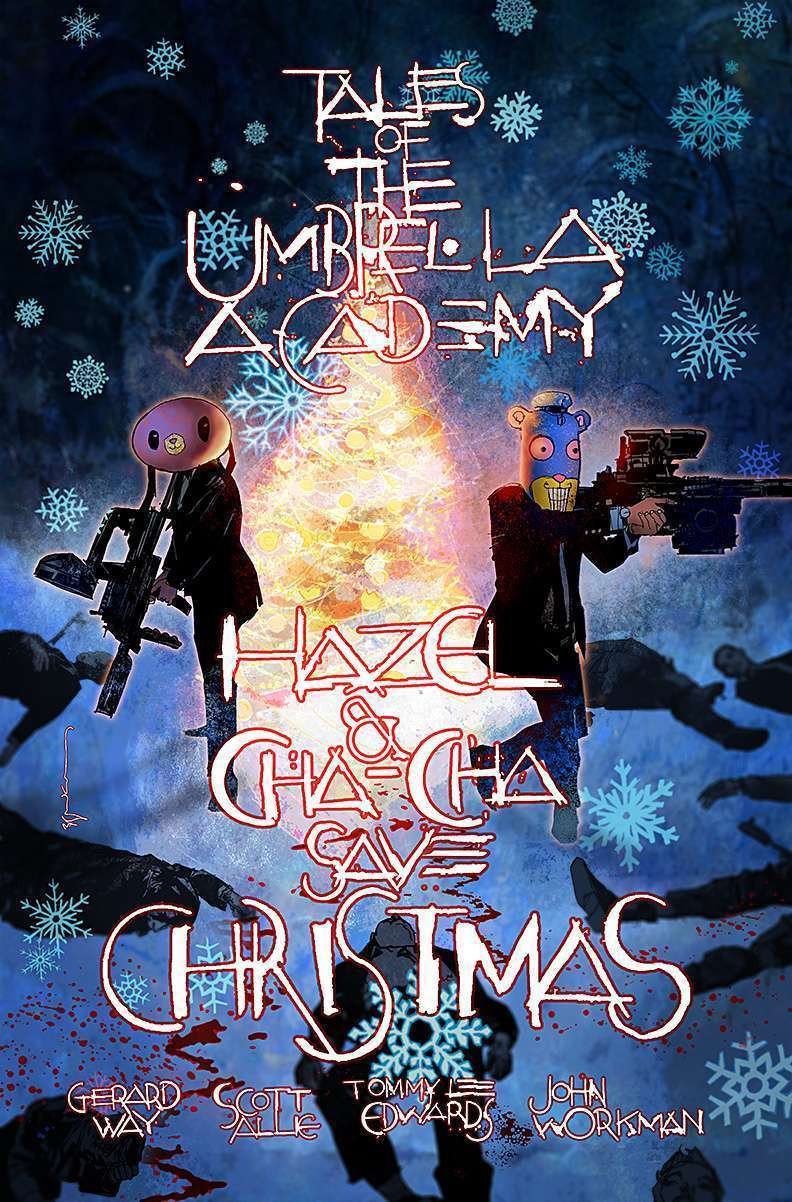 The Umbrella Academy's first spinoff will see Hazel and Cha Cha saving Christmas 16