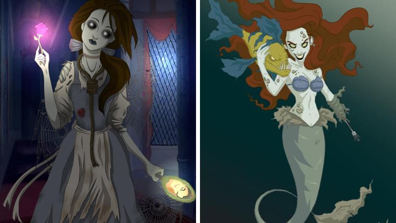 twisted disney princesses - Twisted Disney Princesses