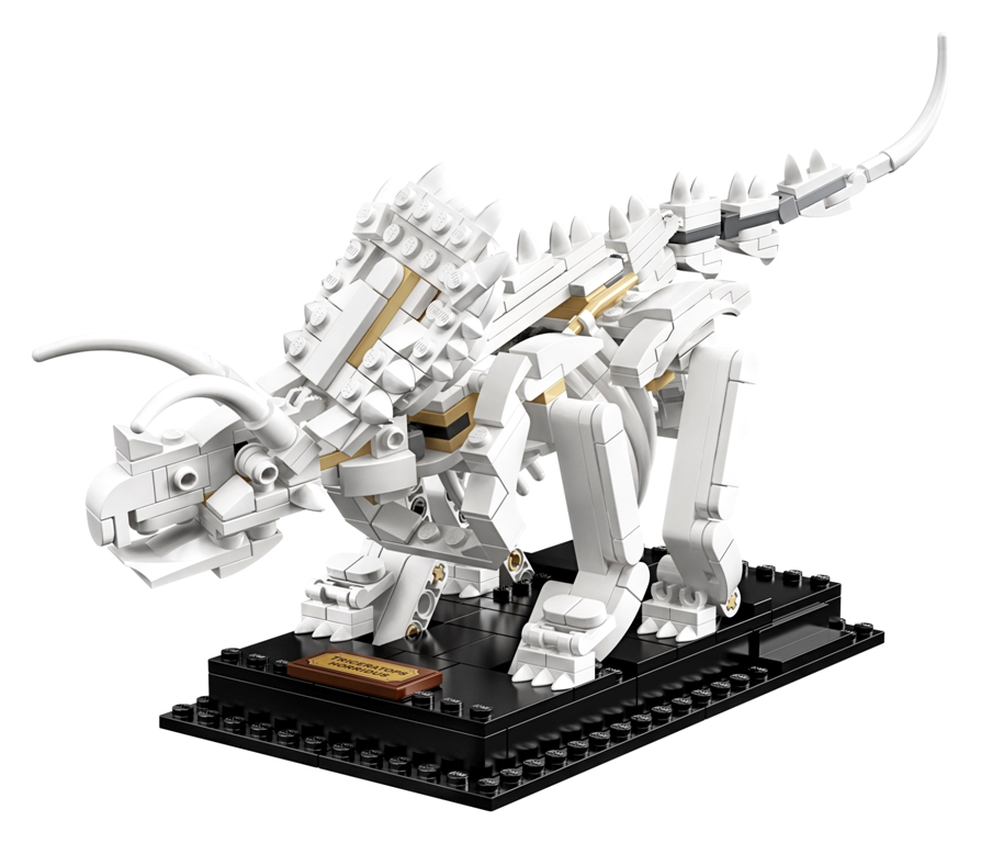 21320 Side 02 01 - The LEGO Ideas Dinosaur Fossils set is perfect for natural history enthusiasts