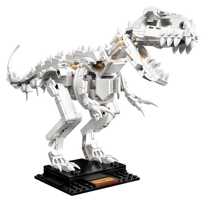 21320 Side 03 01 - The LEGO Ideas Dinosaur Fossils set is perfect for natural history enthusiasts