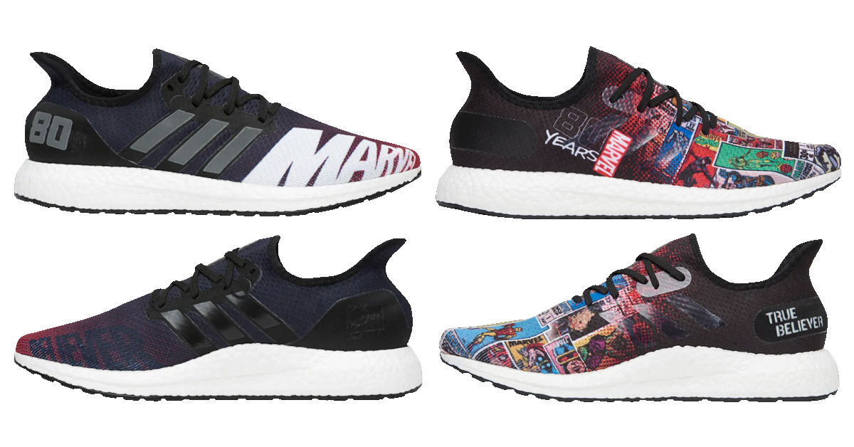 AM4 Marvel 80 sneakers new 758x397 - The adidas AM4 sneakers celebrating Marvel's 80th anniversary are now on sale