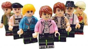 Forget Mattel's BTS dolls, here are BTS LEGO minifigs 15