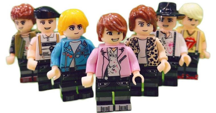 Forget Mattel's BTS dolls, here are BTS LEGO minifigs 12