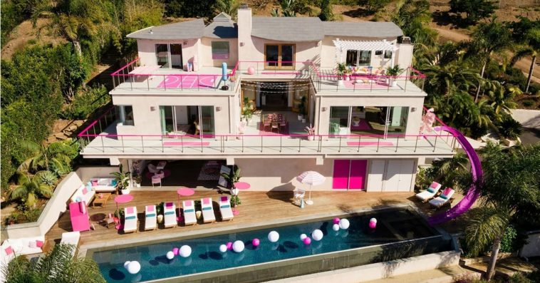 Barbie is renting out her Malibu Dreamhouse on Airbnb for $60 a night 20