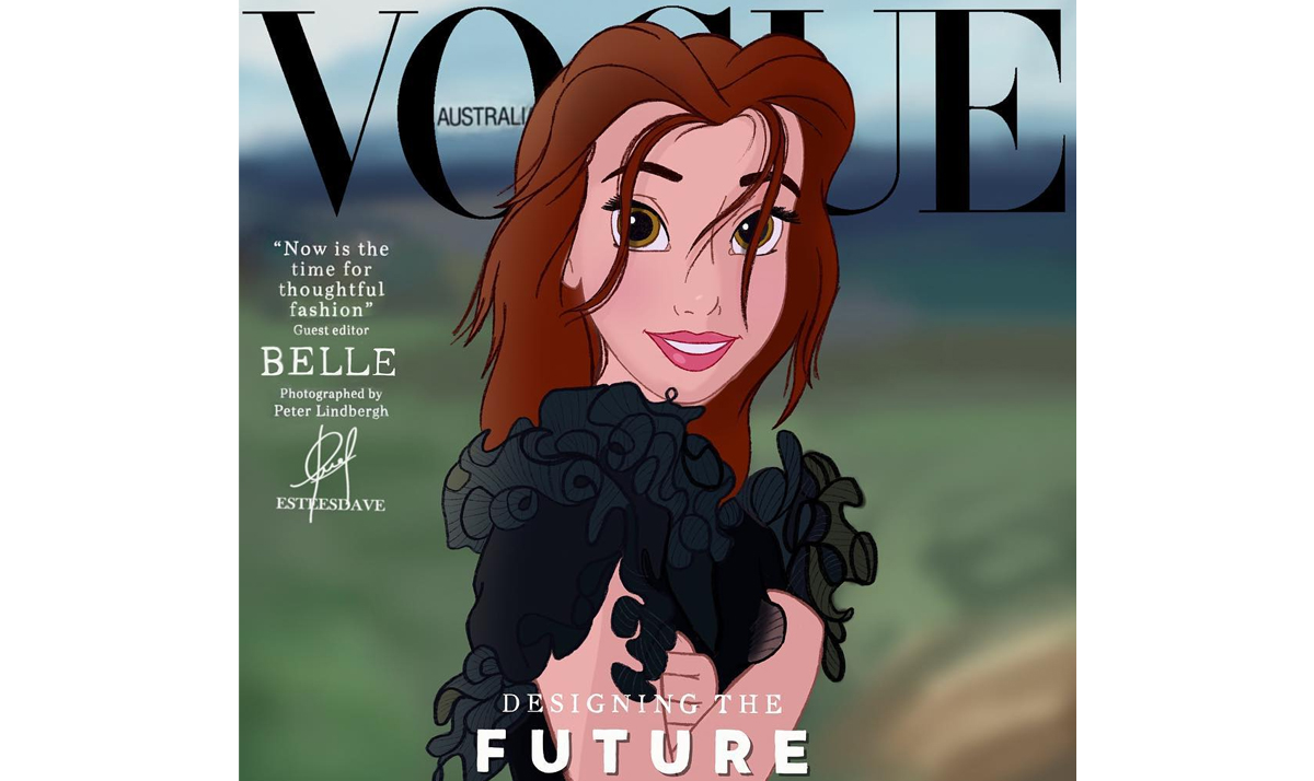 Disney Princesses reimagined as celebs and influencers 12