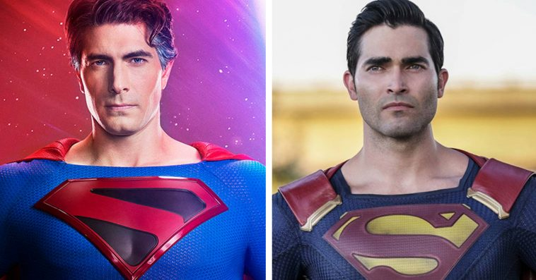 Superman actors Brandon Routh & Tyler Hoechlin unite in a Crisis on Infinite Earths pic 12
