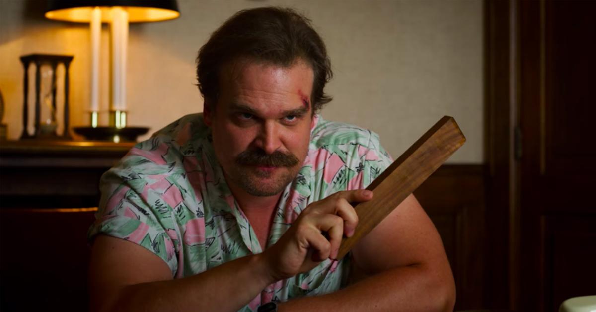 David Harbour as Jim Hopper in Stranger Things 758x397 - Is Hopper in Stranger Things Season 4 teaser?
