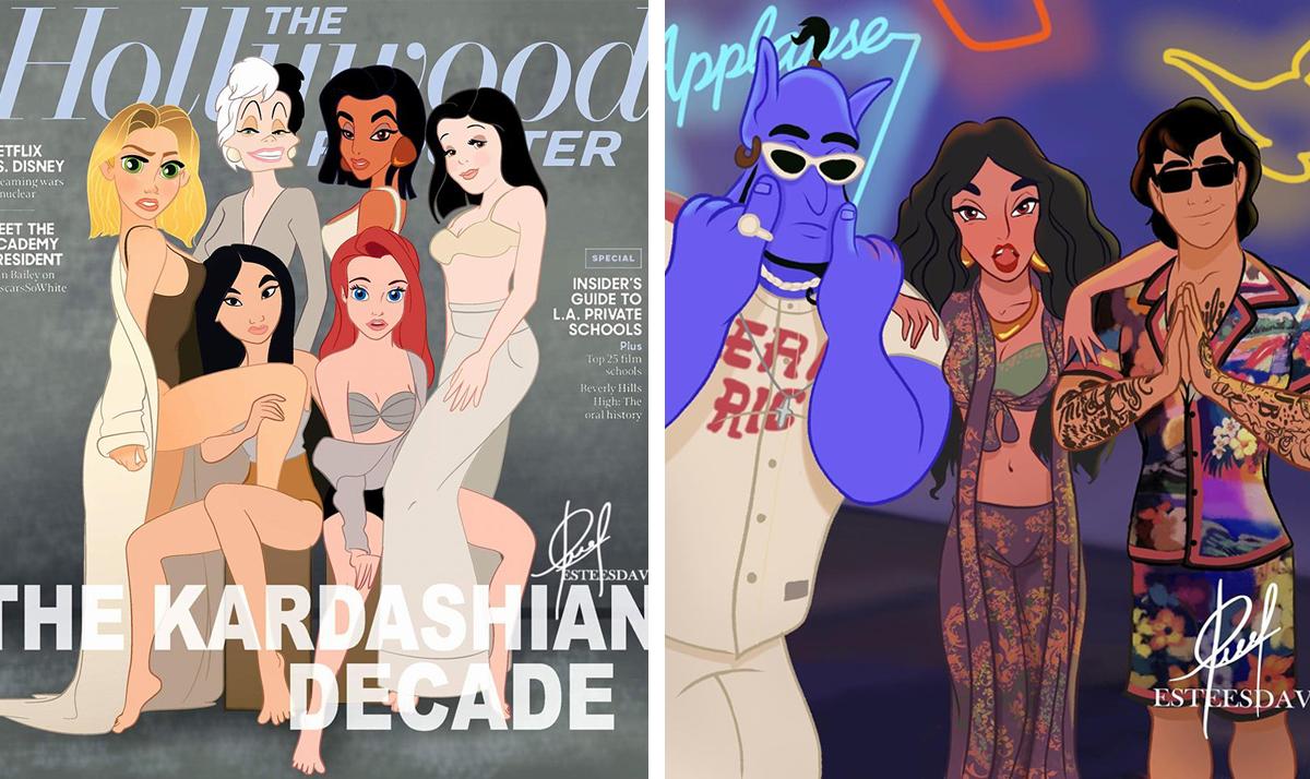 Disney Princesses reimagined as celebs and influencers featured image - Disney Princesses reimagined as celebs and influencers