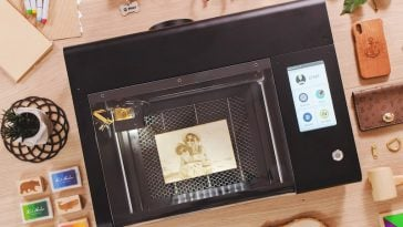 Beamo is a laser cutter and engraver that fits on your desk 29