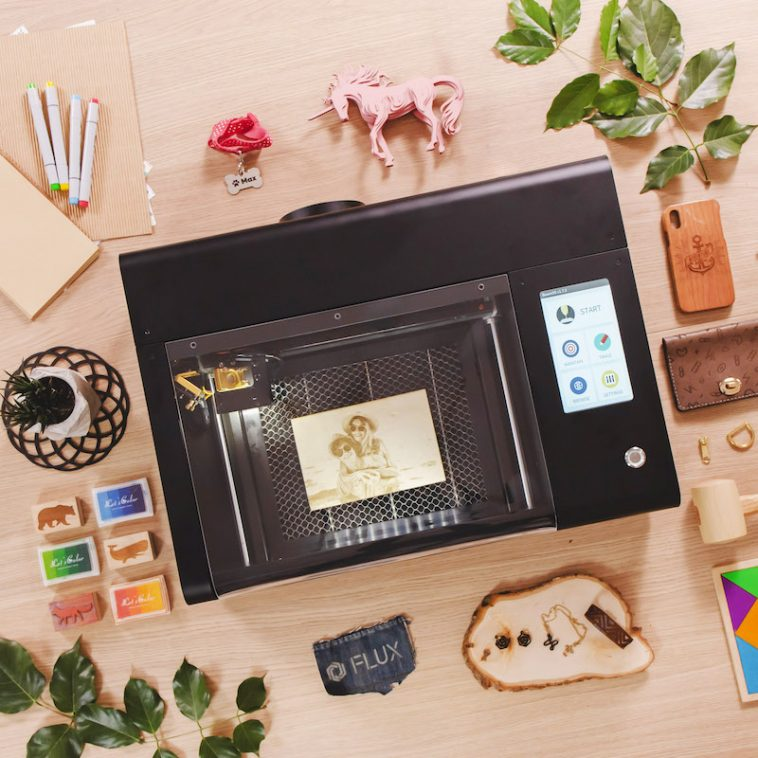Beamo is a laser cutter and engraver that fits on your desk 12