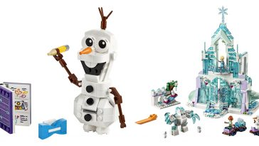 New Frozen 2 LEGO sets reveal scenes from the upcoming film 16