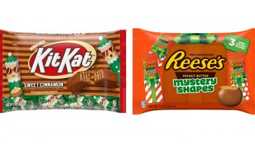 Hershey's 2019 holiday candy lineup adds cinnamon Kit Kats, Reese's Mystery Shapes & more 11