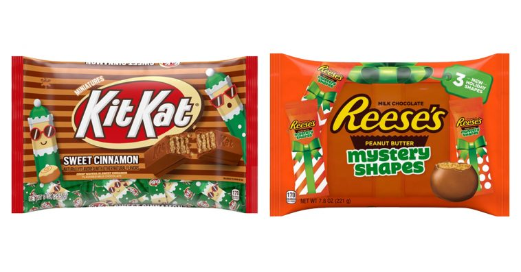 Hershey's 2019 holiday candy lineup adds cinnamon Kit Kats, Reese's Mystery Shapes & more 10