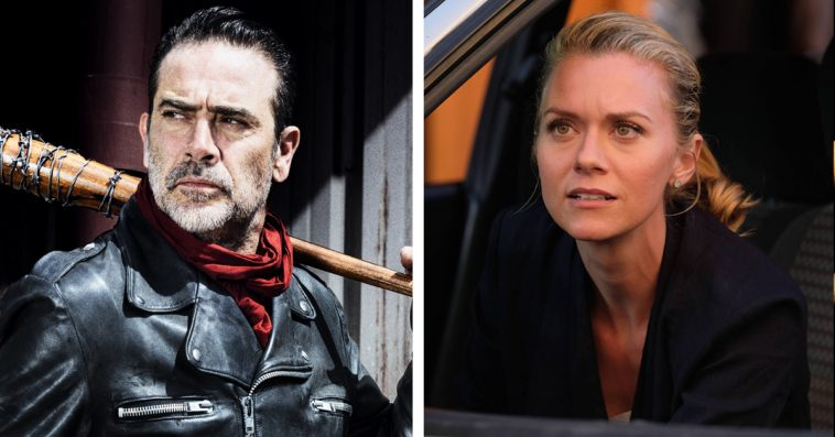 The Walking Dead's Jeffrey Dean Morgan and Hilarie Burton are finally married 10