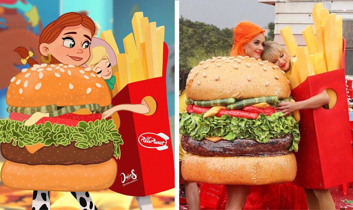 Disney Princesses reimagined as celebs and influencers 16