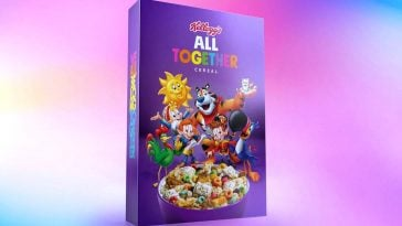 Kellogg's All Together Cereal brings together 6 types of cereal in 1 box 17