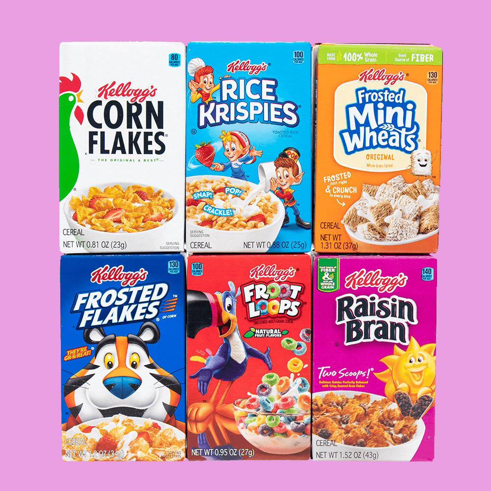 Kellogg's All Together Cereal brings together 6 types of cereal in 1 box 11