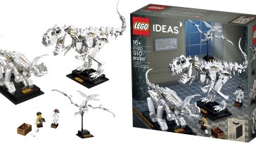 The LEGO Ideas Dinosaur Fossils set is perfect for natural history enthusiasts 19