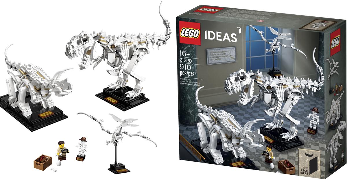LEGO Ideas dinosaur fossils set 758x397 - The LEGO Ideas Dinosaur Fossils set is perfect for natural history enthusiasts