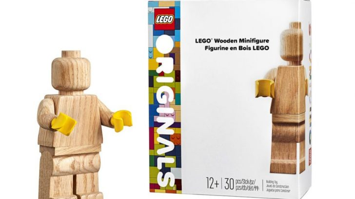 The LEGO Wooden Minifigure is a blank canvas on which you can unleash your creativity 12