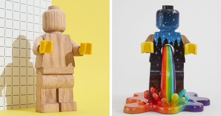 The LEGO Wooden Minifigure is a blank canvas on which you can unleash your creativity 11