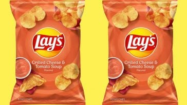 Lays Grilled Cheese Tomato Soup potato chips 364x205 - Lay's is releasing limited-edition Grilled Cheese and Tomato Soup-flavored chips
