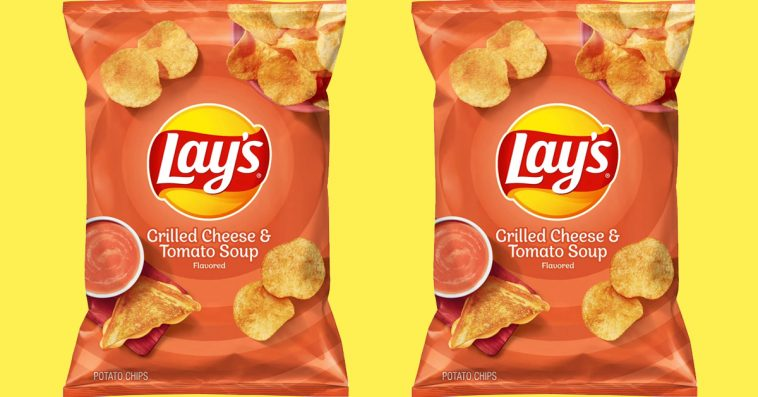 Lay's is releasing limited-edition Grilled Cheese and Tomato Soup-flavored chips 11