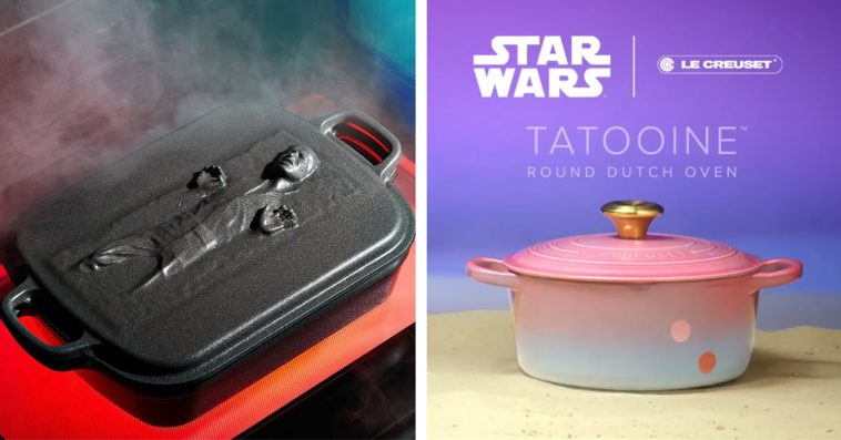 Le Creuset launches a Star Wars cookware line that includes a $900 Dutch oven 13