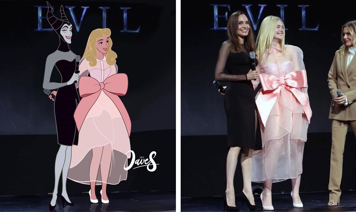 Disney Princesses reimagined as celebs and influencers 20