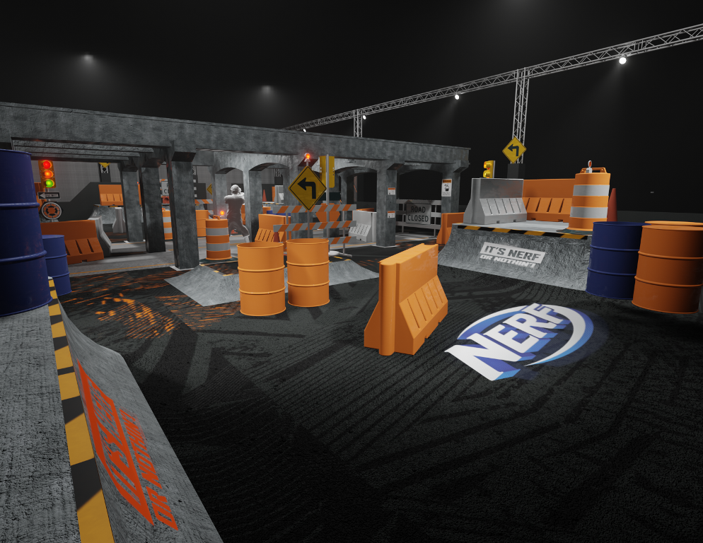 NERF Challenge live attraction is coming to Los Angeles this December 15
