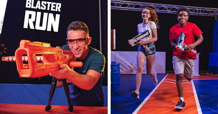 NERF Challenge live attraction is coming to Los Angeles this December 12