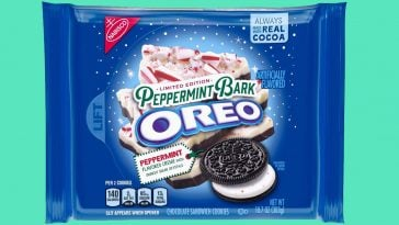 The limited edition Peppermint Bark Oreos are back on shelves 16